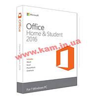 Программное обеспечение Microsoft Office 2016 для дома и учебы 32/ 64 English для 1 ПК (79G-04361)