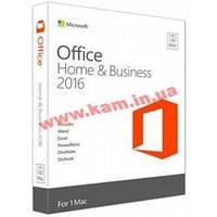 Программное обеспечение Microsoft Office 2016 для Mac для дома и бизнеса English для 1ПК (W6F-00475)