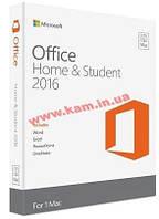 Программное обеспечение Microsoft Office 2016 для Mac для дома и учебы English для 1 ПК (GZA-00646)