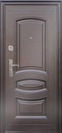 Наружные металлические входные двери ААА 021 Китай, фото 2