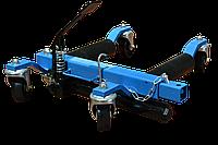 Гидравлическая колесная тележка для перемещения автомобиля