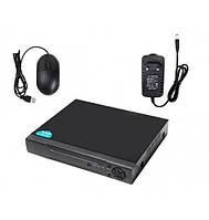 4-х канальный видеорегистратор COLARIX REG-NVR-001.  1хHDD, HDMI, VGA,  2хUSB, 1080р FullHD