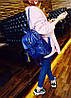 Женский однотонный рюкзак, фото 2