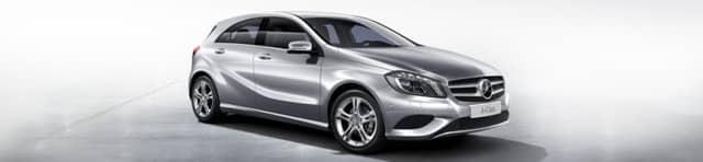 Диски и шины на Mercedes Benz A-Class