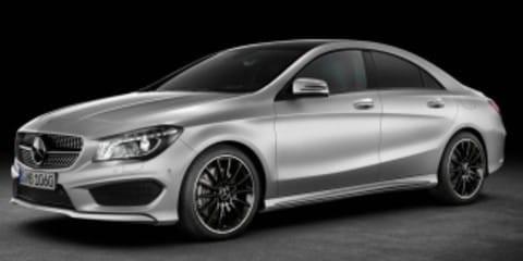 Диски и шины на Mercedes Benz CLA-Class