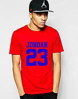 Яркая красная Футболка Джоржан Jordan для мужчин