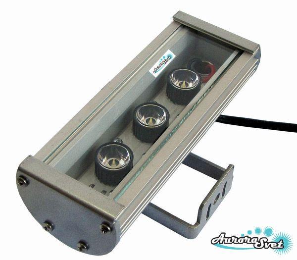Лінійний світильник C-9-12v. LED світильник. Світлодіодний вологозахищений LED світильник.