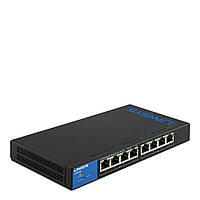 LINKSYS LGS308P-eu SWITCH, POE, GIGABIT,SMART, 8-PORT
