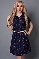 Платье 475-15  (А.Н.Г.) размер 46-48,48-50,50-52 вишня
