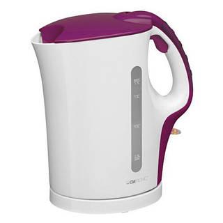 Электрический чайник Clatronic WK 3445 бело-фиолетовый Германия