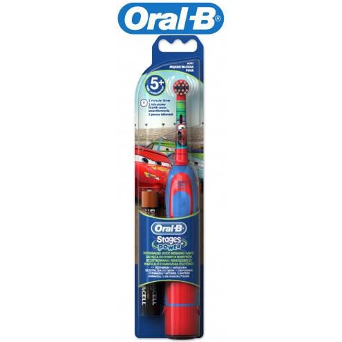 Зубная щетка ORAL-B DB4510K CARS STAGES POWER