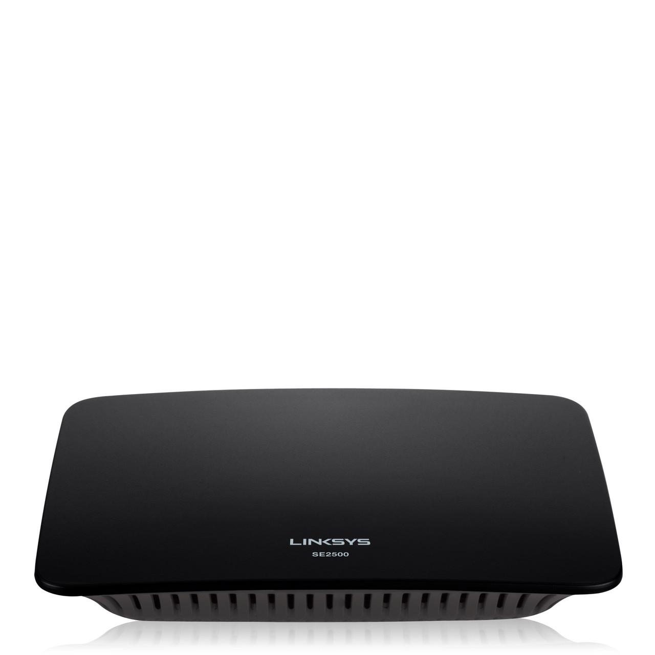 Коммутатор LINKSYS SE2500-EU 5-Port Gigabit Ethernet Switch