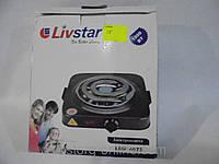 Кухонная бытовая плита, электроплита Livstar LSU-4073, одноконфорочная, плита без духовки, переносная