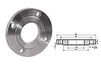 Фланец плоский стальной Ду15 мм Ру10 атм