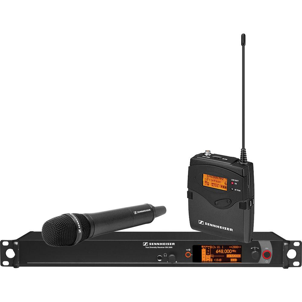Беспроводная система Sennheiser 2000 Series Single MD835 Bw / 626 - 698MHz (2000C1-835BK-B)