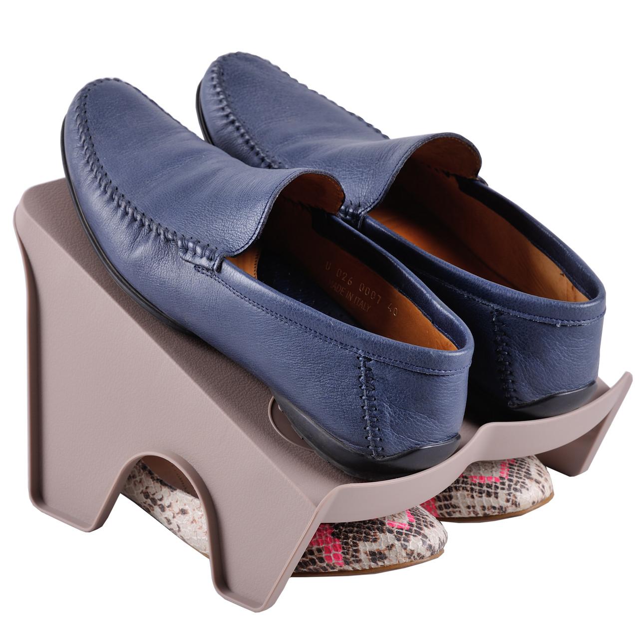 Подставка для хранения обуви коричневый BE-05B Handy-Home L - Интернет магазин Постелюшка (Домашний текстиль, сумки, товары для дома и отдыха) в Харькове
