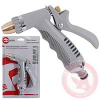 Пистолет-распылитель для полива с плавной регулировкой потока воды (ABS; PP; TPR; ZINC ) INTERTOOL GE-0013