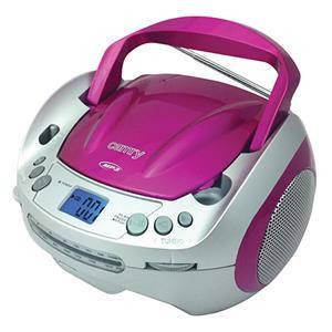 Магнитофон CD/MP3 CAMRY CR 1123 розовый