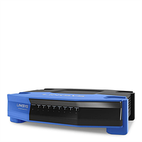 LINKSYS SE4008 WRT WIRED SWITCH, 8 PORT, GIGABIT