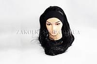 Новогодние товары; Парик карнавальный Искусственный волосы на повязке, ровный, 1 штука