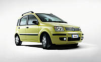 Дефлектор капота на Fiat Panda c 2003 г.в.