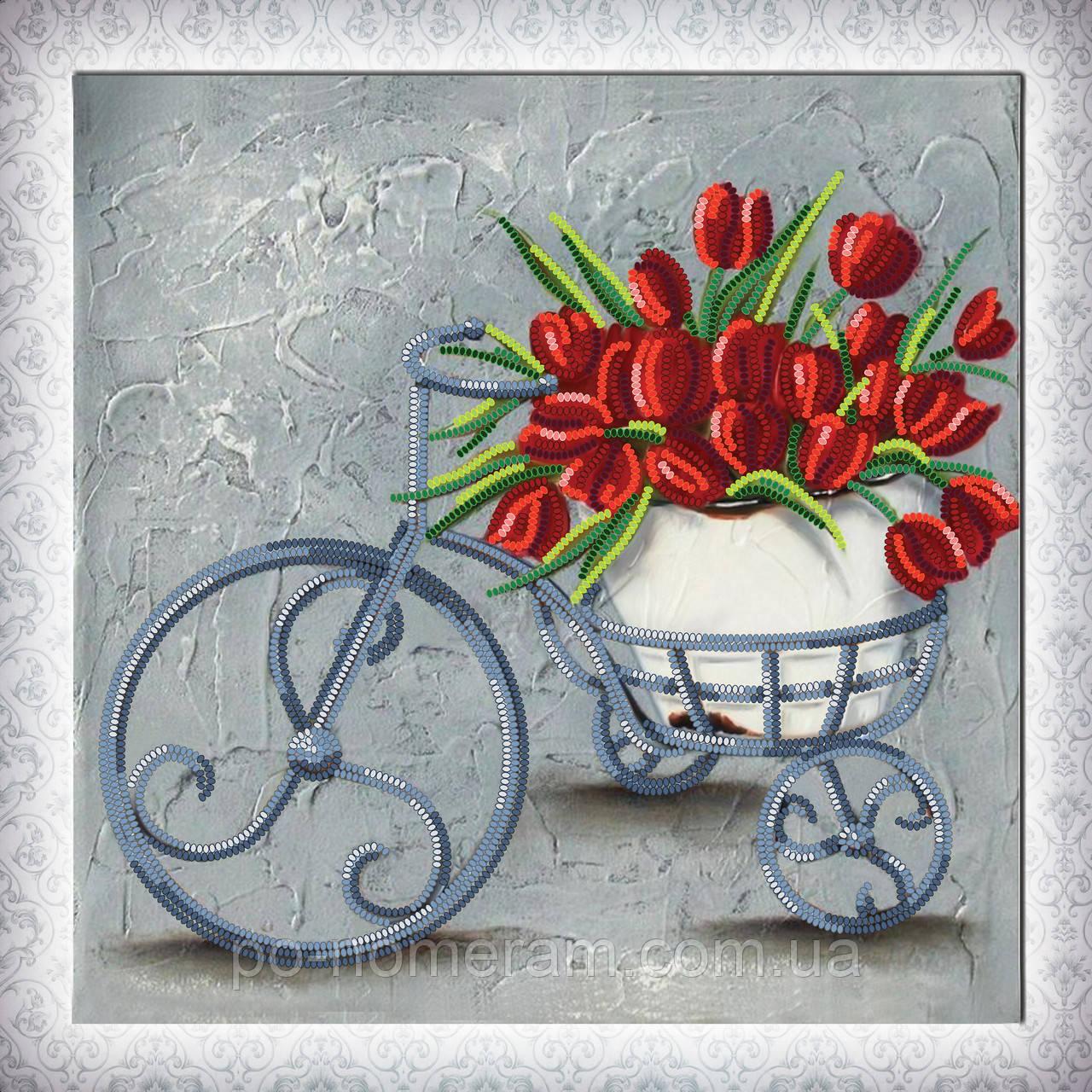 Картина из бисера Идейка Навстречу весне (ВБ1070) 30 x 30 см