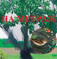Защитная сетка от птиц зеленая 4м НА МЕТРАЖ