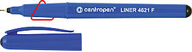 Маркер Перманентний 0,3 мм чорний. 4621 Лінер Centropen, Чехія