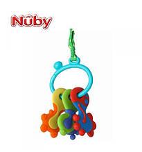 Игрушка - прорезыватель Ключики с колечком Nuby 6584 EUT/00-621