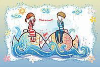 Вышивка бисером Идейка Море любви (ВБ2031) 20 х 30 см