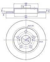 19-1869 = C42055 Диск тормозной MAX GEAR