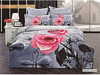 Красивое 3 Д постельное бельё Snowy Sawan