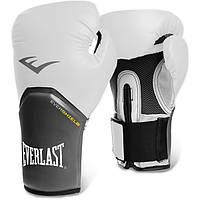 Перчатки для бокса Everlast Pro Style Elite 10 унций, белые