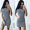 Платье женское полоска, фото 2