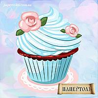 Кексик с розочкой РТ150054