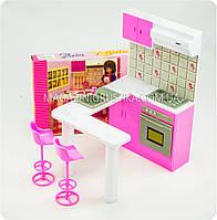 Детская игрушечная мебель Глория Gloria для кукол Барби Кухня 94016. Обустройте кукольный домик