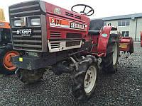 Японский мини трактор Shibaura P17F с фрезой
