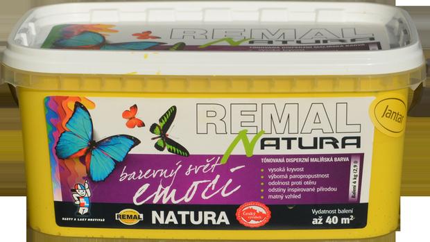 Матовая краска REMAL NATURA