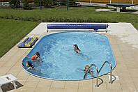Сборный овальный бассейн IBIZA POOL 7,0 х 3,5 х 1,5 м