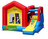 """Детский надувной Игровой центр """"Дом солнца"""" горка, батут, препятствие, взбирание по стене, ползание"""