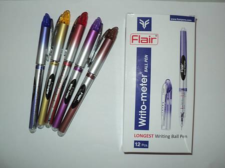 Масляная ручка Flair Writo-meter 10 km (12 шт/упаковка)