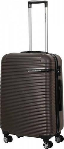 Износостойкий чемодан Vip Collection Maldivas 24 Anthracite на 4-х колесах 67 л MDS.24.grey, темно-серый