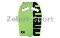 Доска Arena Kickboard AR-95275(EVA,р-р 41*28*2,5см, цвета в ассортименте) зеленый