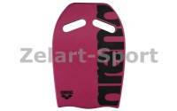 Доска Arena Kickboard AR-95275(EVA,р-р 41*28*2,5см, цвета в ассортименте) розовый