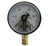 Манометр МТ-3С электроконтактный манометр  МТ-3С сигнализирующий   вакуумметр МТ-3С, ЭКМ-100