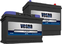 Аккумулятор Vesna Power 55Ah-12v (242x175x175) правый +