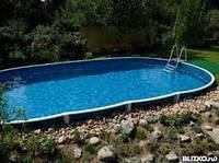 Сборный овальный бассейн IBIZA POOL 6,0 х 3,2 х 1,5 м, фото 1