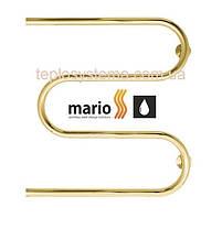 Полотенцесушитель водяной Змейка (30)  500 х 500 с кольцами (Mario), фото 2