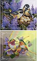 Вышивка бисером Идейка Пара птиц № 3      (Две картины в наборе) (ВБ2002) 2 х 20 х 24 см