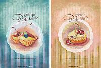 Картина бисером на холсте Идейка Сладкий дуэт ( Две картины в наборе) (ВБ2005) 2 х 20 х 30 см